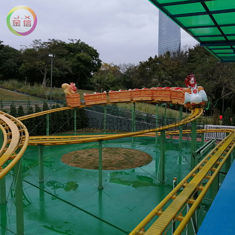 游乐场设备 - 金信游乐-丛林滑车