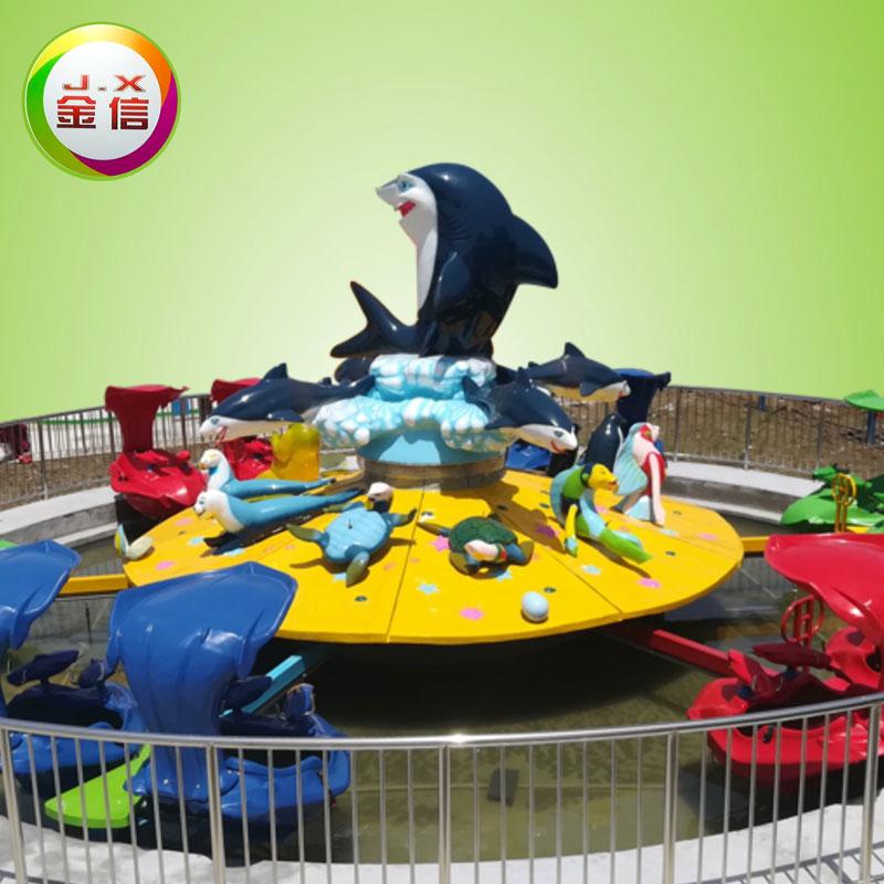 新款游乐设备-激战鲨鱼岛