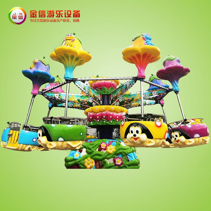 公园新型游乐设施-逍遥水母