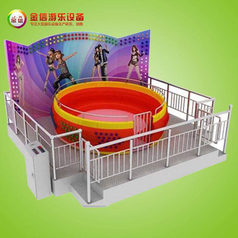 儿童游乐场设施-迪斯科转盘