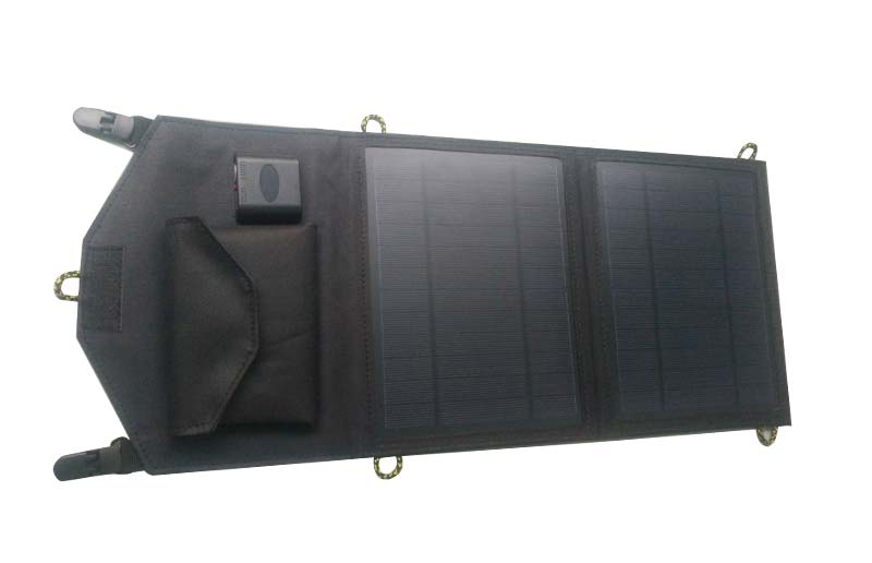 10W Foldable Solar Panel Charger,USB Solar Charger