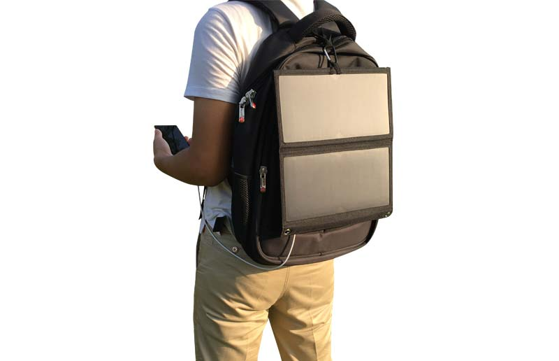 14W Sunpower Solar Charger Bag,Solar Power Backpack