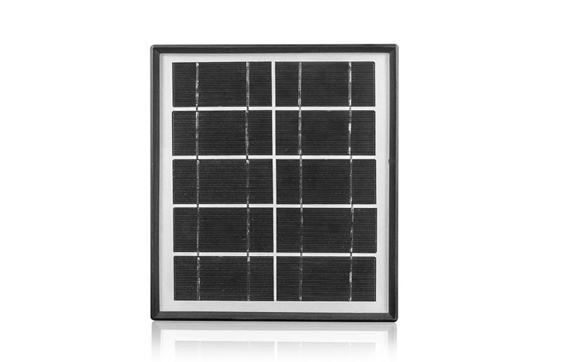 5W Solar Panel, Plastic Frame Solar Panel