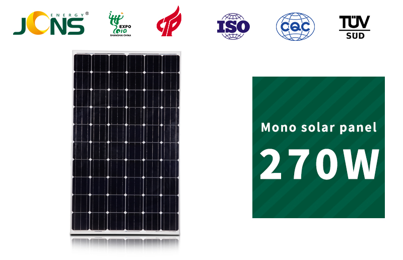 270w Mono Solar Panel,Photovoltaic Cells,Photovoltaic Solar Cells