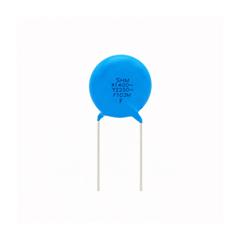 Wafer ceramic capacitors