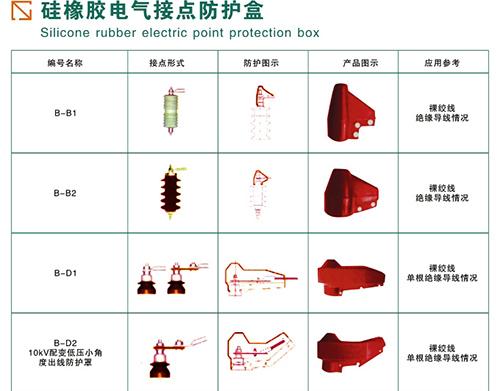 硅橡胶电气接点防护盒