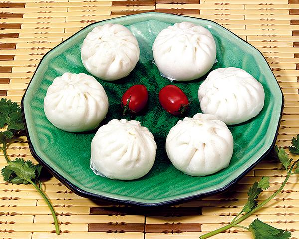 滑肉包 Bun with fresh pork