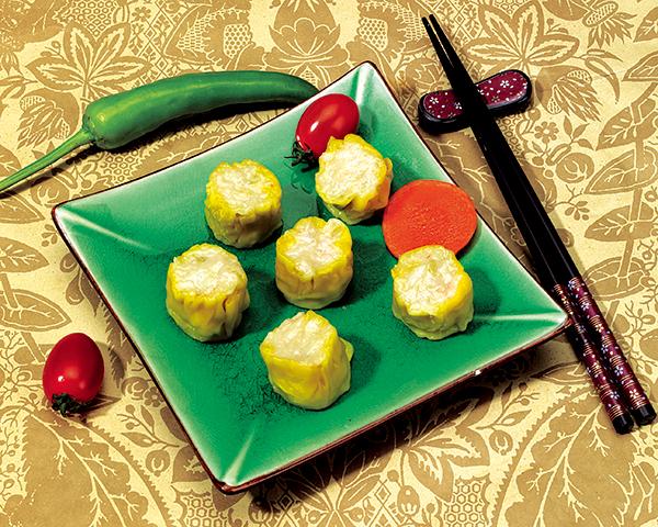 虾仁烧卖 Shrimp dumpling