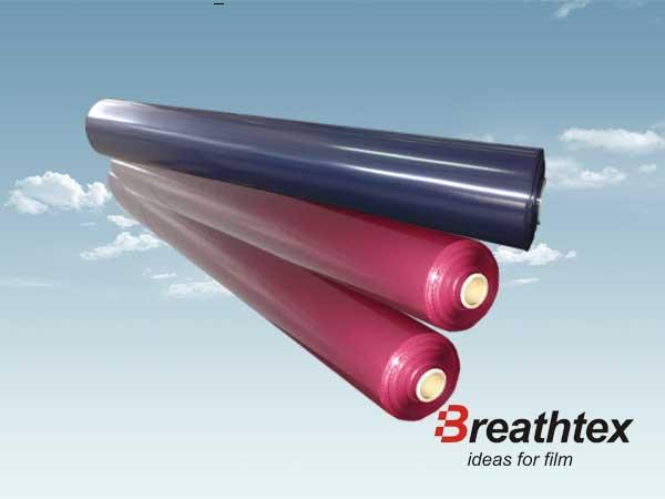 Low permeability film (Tibetan green wine red)