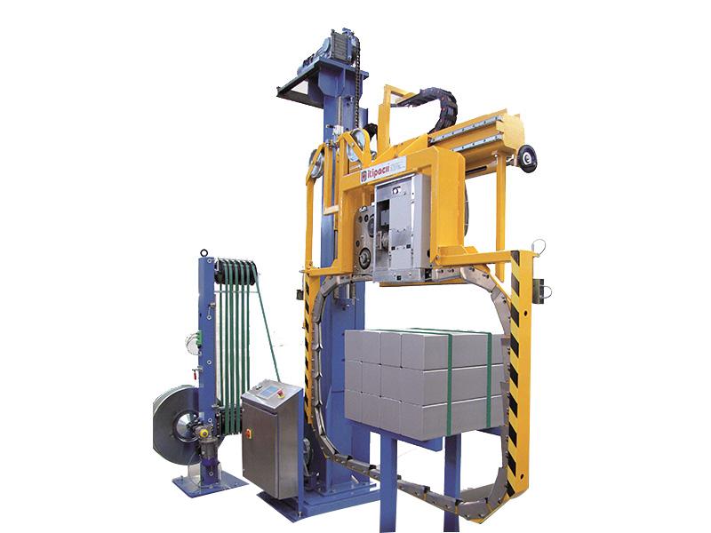 Aluminum rod baling machine