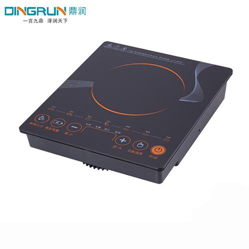 高档电磁炉-黑晶面板气电两用灶(电磁炉部分)