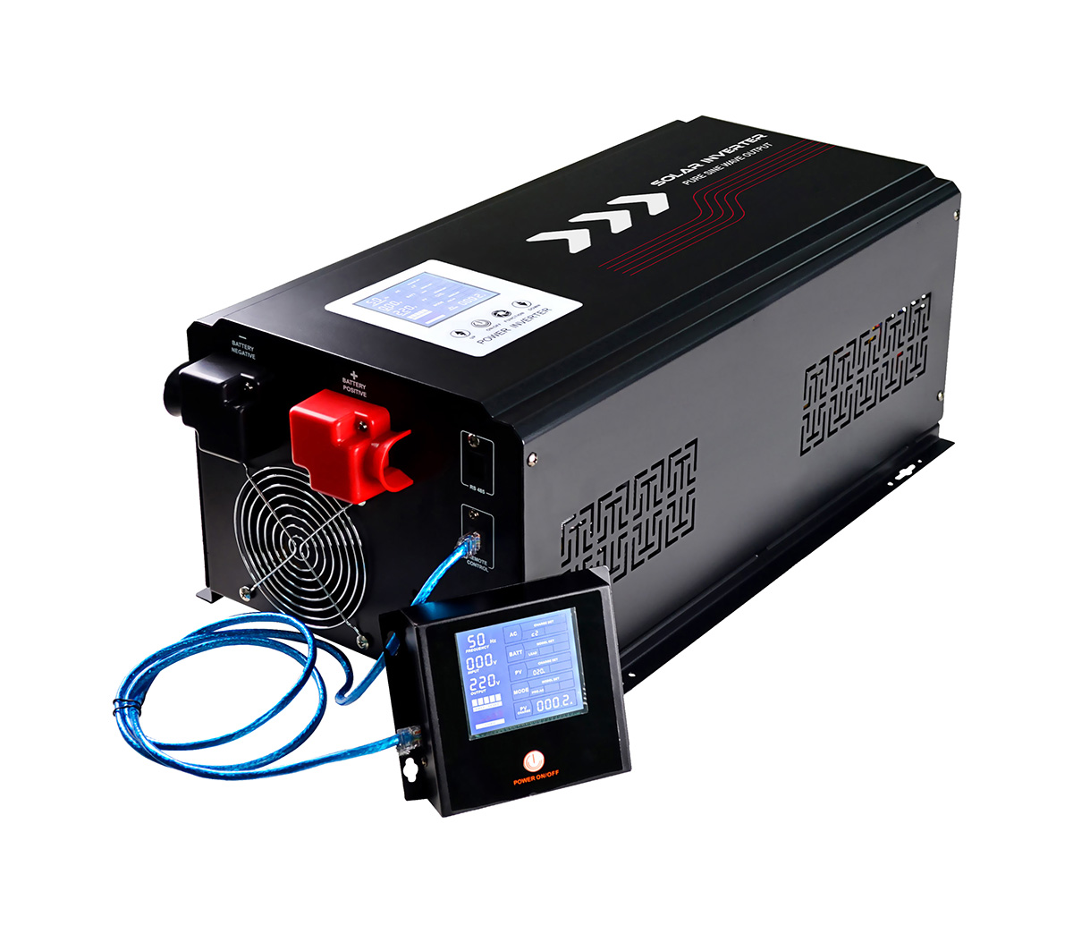 W10 Inverter Charger / Solar Inverter Charger (1000W-3000W)