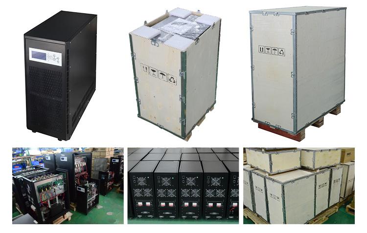 三相太阳能逆变器生产及包装