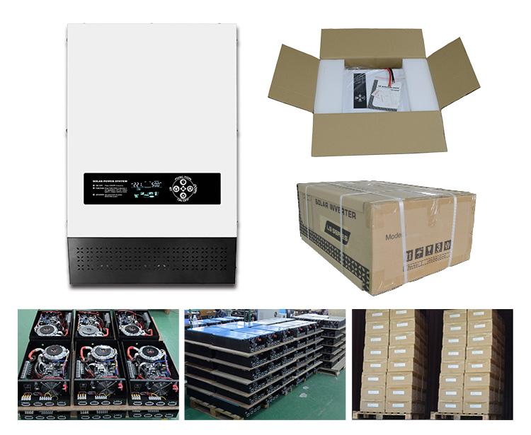 自动逆变器生产及包装图