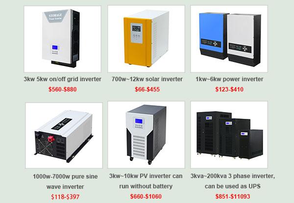 欣顿在南非的太阳能逆变器排名和价格