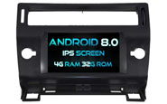 Android 8.0 For CITROEN C4 (W2-V5691B)