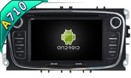 Android 7.1 For FORD MONDEO(2007-2013)/FOCUS(2008-2011)/ (W2-H5762B)