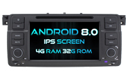 Android 8.0 For BMW E46 (W2-V7620)
