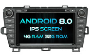 Android 8.0 For TOYOTA PRIUS (LHD&RHD) (W2-V7044)