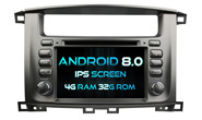 Android 8.0 For TOYOTA LAND CRUISER 100 (W2-V7071)