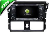 Android 10 For TOYOTA YARIS/VISO 2014 (W2-KS6189)