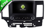 Android 10 For MITSUBISHI LANCER 2006-2015 (W2-KS6857)