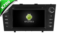 Android 10 For TOYOTA AVENSIS 2008-2013 (W2-KS5585B)