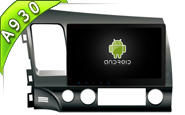 Android 9.0 FOR HONDA CIVIC 2007-2011 (W2-RD5327)
