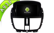 Android 9.0 For PEUGEOT 207/207CC 2007-2014 (W2-RD5395)
