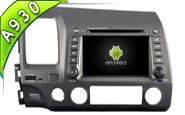 Android 9.0 For HONDA CIVIC 2006-2011 (W2-RD5710)