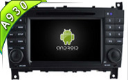 Android 9.0 For MERCEDES-BENZ C CLASS (W2-RD5517)
