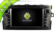 Android 10 For TOYOTA AURIS 2007-2011 (W2-RDT5730)