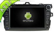 Android 10 For TOYOTA COROLLA (W2-RDT5749)