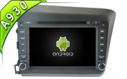 Android 9.0 For HONDA NEW CIVIC 2012 (W2-RD5728)