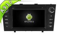 Android 10 For TOYOTA AVENSIS 2008-2013 (W2-RDT5585B)
