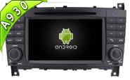 Android 9.0 For MERCEDES-BENZ C CLASS (W2-RD7613)