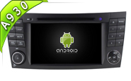 Android 10 For MERCEDES-BENZ E CLASS W211 (W2-RDT7611)