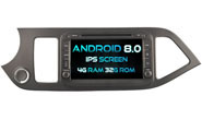 Android 8.0 For KIA MORNING/PICANTO 2012 (W2-V7057)