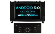 Android 9.0 For PEUGEOT 407 (W2-RV5588B)
