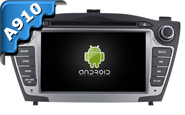Android 10 For HYUNDAI ix35 2010-2013 (W2-RVT7633)