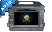 Android 9.0 For KIA SPORTAGE 2010-2012 (W2-RVF7637)