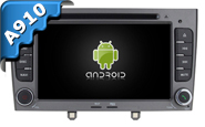 Android 9.0 For PEUGEOT 408 2010-2011 (W2-RVF7647G)