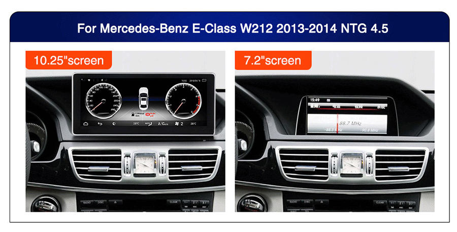 Android 7 1 For MERCEDES-BENZ E-class W212 sedan 2013-2014