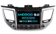 Android 9.0 For HYUNDAI IX35/ Tucson 2015 (W2-RVF5567)