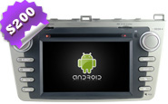 Android 8.0 For New MAZDA 6 Silver Frame (W2-W012S)