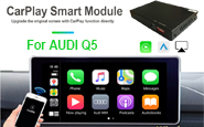 Wireless Carplay/Andriod Auto For AUDI Q5 (MMI 3G Basic isn't supported) (CP508A)