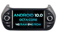 Android 10 For Deckless FIAT Fiorino (W2-RVT5538)
