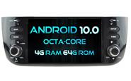 Android 10 For FIAT LINEA 2012-2015 / GRANDE PUNTO EVO 2009-2015 (W2-RVT5594)