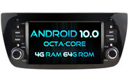 Android 10 For Deckless FIAT DOBLO (W2-RVT5533)