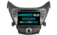 Android 10 For HYUNDAI ELANTRA 2011 (W2-RVT5718)